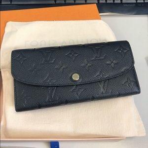 Louis Vuitton Emilie empreinte wallet